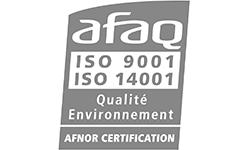 Logo Afaq ISO