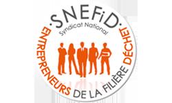 Logo du Syndicat National des Entrepreneurs de la filière déchet
