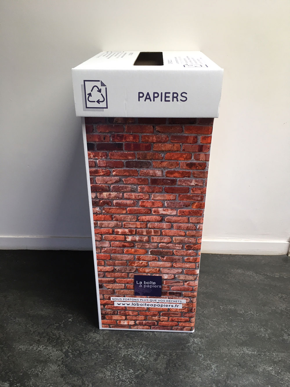 Cartons Recyclage de Papiers